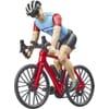 U63110 Racing bicycle with cyclist