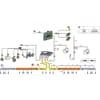 Kontrollenhet og tilbehør til Arag Bravo 400 S + Seletron (uten hydraulisk kontroll)