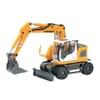 O26112 Liebherr A918 Mobile excavator