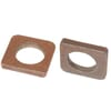 Weld-on support backing plate - Universal