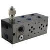 Cetop 03 multi subplates + 2/2 valve