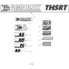29 Autocollants THSRT