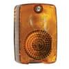 Indicator light 21W, rectangular, 12V, amber, bolt on, 90x55x60mm, Hella