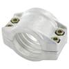 Lichtmetalen klemschalen aluminium