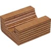 Wood.bearing half