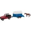S01651 Jeep et remorque pour chevaux