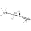12 Hydraulický nastavovač prednej brázdy vhodný pre Agrolux / Kongskilde XRS 6975