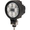 Work light LED, 24W, 1500lm, round, 10/30V, Ø 117mm Deutsch plug, Flood, 6 LED's, Kramp