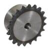 """Kettingwielen voorgeboord - BS / DIN 8187 - simplex 3/8"""" x 7/32"""" - inductie geharde tanden"""