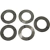 Crankshaft balancer rings