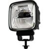 Square LED work lamp, anti-glare