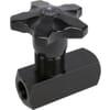 Smoring 1 stromingsrichting FT 257/5 met kunststof handknop - Kramp Market