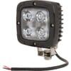 Work light LED, 40W, 4000lm, square, 10-30V, 98.5x63.4x98.5mm, Spot beam, Kramp