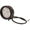 Work light LED, 18W, 1440lm, round, 10/30V, Ø 89mm, Flood, 6 LED's, Kramp