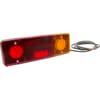 Multifunction rear RH light LED, rectangular, 12-24V, 287.5x100.5x65mm, Kramp