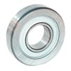 Track roller bearing, single-row, with convex outer casing