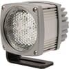 Work light LED, 36W, 2700lm, square, 12-24V, 138x128x120mm Deutsch plug, Flood, 6 LED's, Kramp