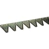 Cutterbar mower knife, 15 sections, 0.80m, connection BC