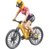 U63111 Mountain bike with cyclist
