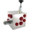 Pressure control valves slurry injector