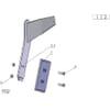 18 Couteau élargisseur de sillon