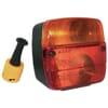 Rear lamp 108 x 103mm
