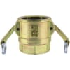 Camlock industrial couplings with inner thread