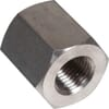 Stainless steel Hexagon bush - ZB..RVS