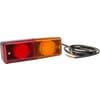 Multifunction rear light LED, rectangular, 12-24V, 200x70x60mm, Kramp