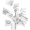 Prevodovka s výmennými kolesami vhodná pre Rabe MKE 301, 401