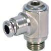 Insteekkoppeling L - cilindrische buitendraad en binnenzeskant, zwenkbaar - type BCS..B
