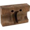 Straw walker wood bearing