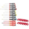 AT.J12R1 Screwdriver set with 2 holders 12 piece