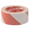 Warnband PVC - rot/weiß