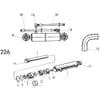 09 Vérin hydraulique pour réglage de largeur du premier sillon HSRT, HSRS