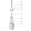 "Gate valves & accessories - Spare Parts MZ threaded 8"""