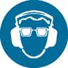 Safety signs, Eye & ear protection