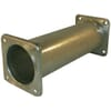 +Steel pipe with 4 bolt square flange at both ends