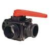 Arag 3-veis boltet ventil, sidetilkobling med adapter