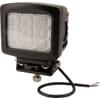 Work light LED, 90W, 8100lm, square, 10/30V, 135x124mm, Flood, 9 LED's, Kramp