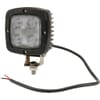 Work light LED, 40W, 4000lm, square, 10-30V, 98.5x63.4x98.5mm, Flood, Kramp