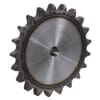 "Kettingwielen voorgeboord - BS / DIN 8187 - simplex 1"" x 17,02mm - inductie geharde tanden"