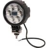 Work light LED, 24W, 1500lm, round, 10/30V, Ø 117mm, Spot beam, 6 LED's, Kramp