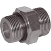 +Male stud adaptor with seal GES-Metric-WD