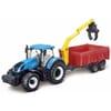 New Holland T7.315 Traktor mit Anhänger