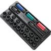 "E041604 Impact sockets and accessoires module 1/2"" 26-pieces"