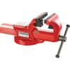 +1224.E Fixed bench vice for industry and maintenance