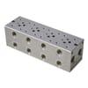 Cetop 03 multi subplates Aluminium