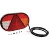 Rear light RH LED, rectangular, 12/24V, 254x31x153mm, Kramp