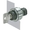 Key selector switches, flush mounting